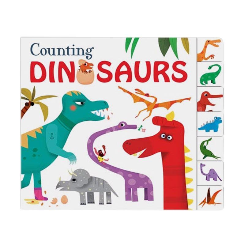 harga Priddy Books Counting Dinosaurs Buku Edukasi Anak Blibli.com