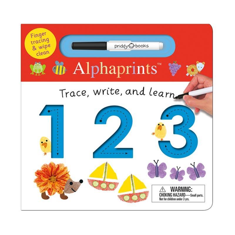 harga Priddy Books Alphaprints 123 Buku Edukasi Anak [24-47 Month] Blibli.com