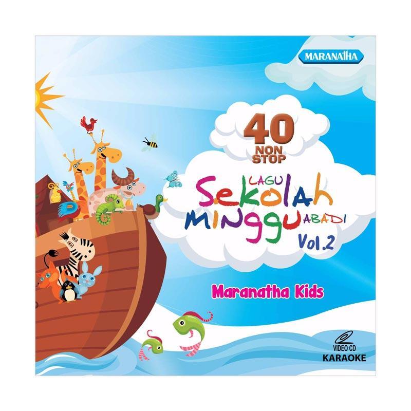 harga Maranatha Records VCDM-710D Maranatha Kids 40 Nonstop Sekolah Minggu Abadi Vol. 2 CD Rohani Blibli.com