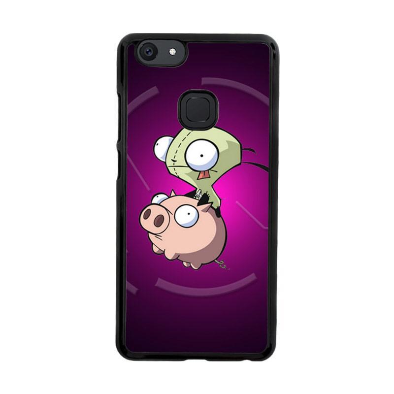 Flazzstore Invader Zim Gir Piggy Z0620 Custom Casing for Vivo V7