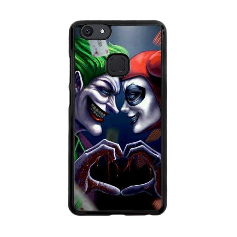 Flazzstore Harley Quinn And Joker Love F0447 Custom Casing for Vivo V7