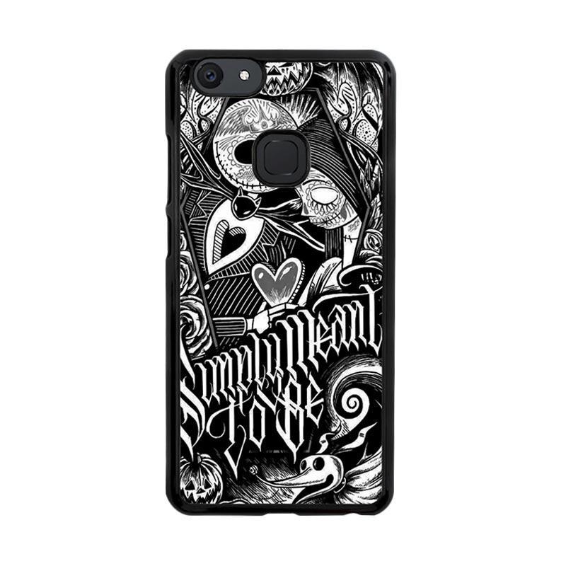 Flazzstore Jack And Sally Muertitos The Nightmare Before Christmas F0874 Custom Casing for Vivo V7