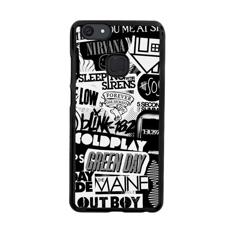 Flazzstore The Xx Coldplay Arctic Monkeys The Neighbourhood Sleeping With Sirens The 1975 Band Z0252 Custom Casing for Vivo V7