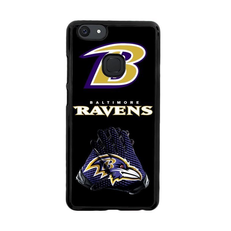 Flazzstore Baltimore Ravens Football X3202 Custom Casing for Vivo V7