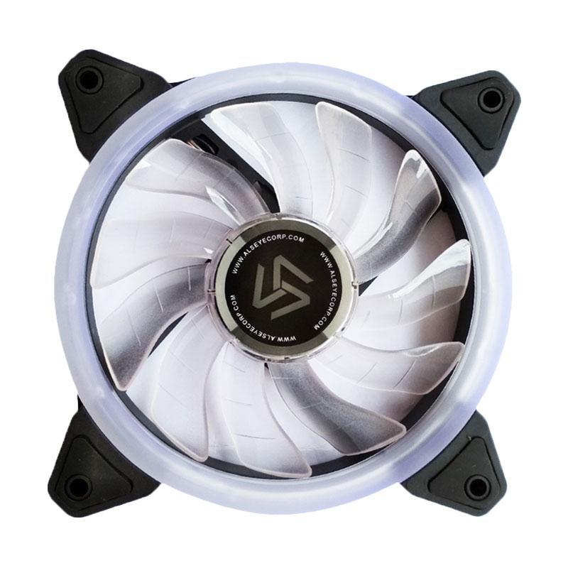 Alseye Aurora Cooler Case Fan with LED Ring - Putih