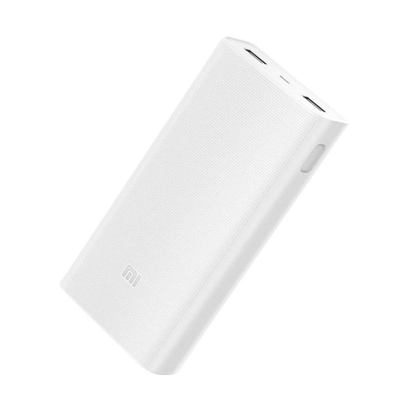 Xiaomi 2C Generation 2nd Powerbank - Putih [20000 mAh]