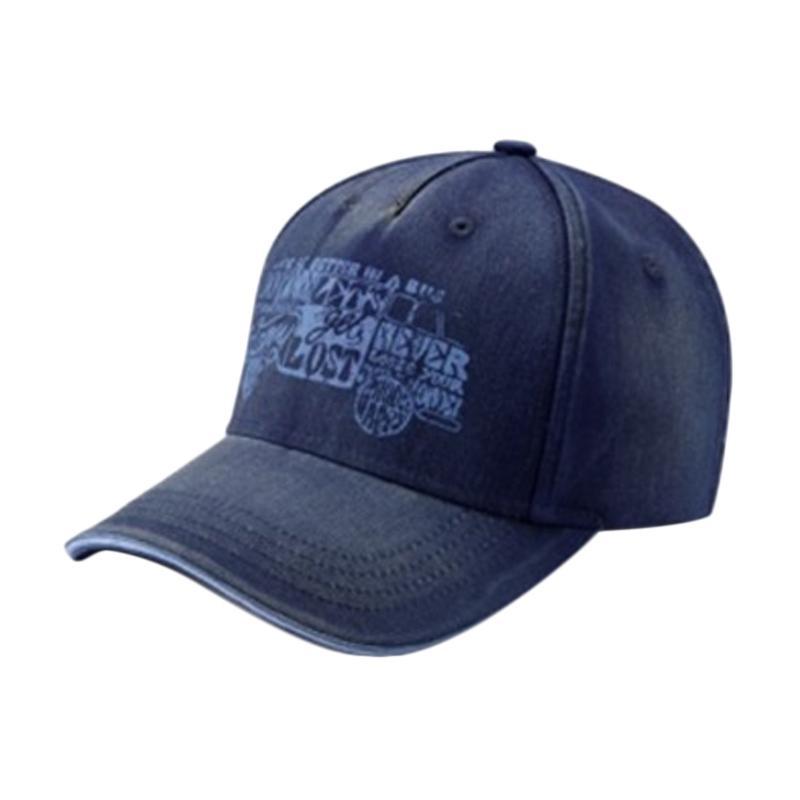 VW T1-Summer-Edion Baseball Cap - Drak Blue