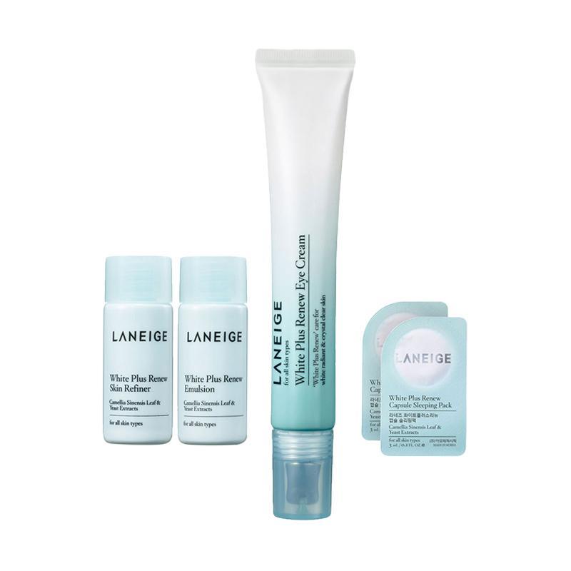 harga Laneige White Plus Renew Eye Cream Set [15 mL] Blibli.com