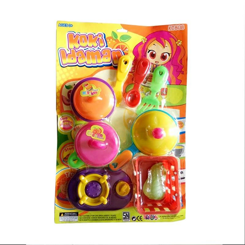 Jual Mgl Toys Ki 808 Masak Masakan Koki Impian Kitchen Set Mainan Anak Online Oktober 2020 Blibli Com