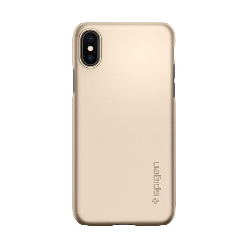 Spigen Thin Fit Hardcase Casing for iPhone X [Original]