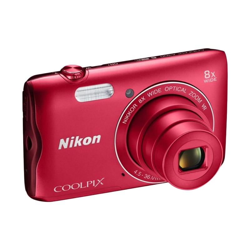 harga Nikon COOLPIX A300 Digital Camera - Red Blibli.com