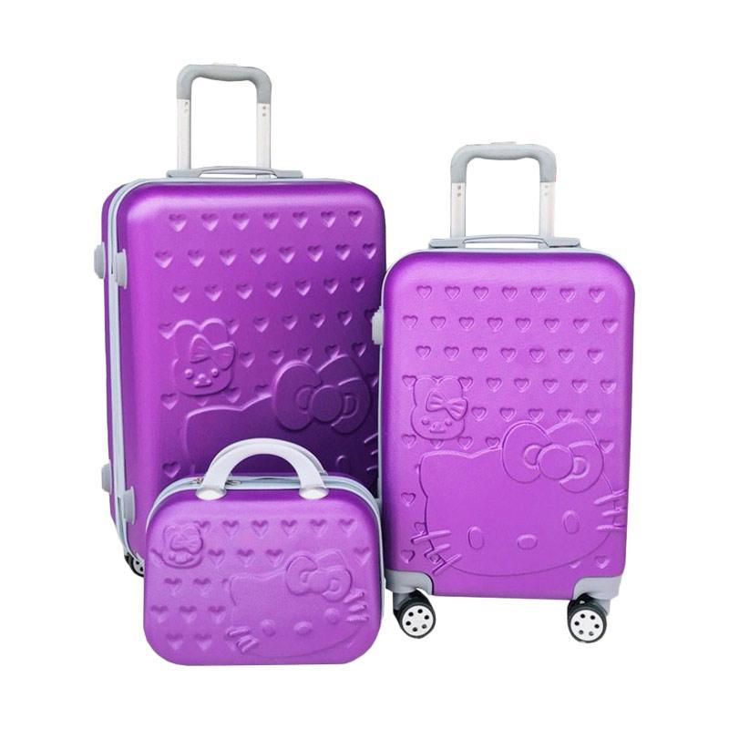 DJ Fashion HK Set 3In1 Koper - Purple