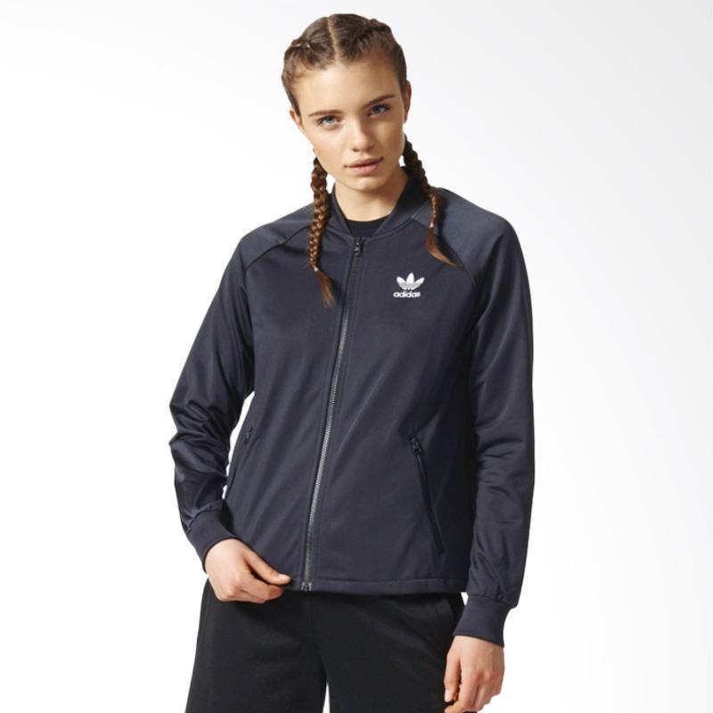 adidas IP SST TT Carbon Womens Jacket Lari Wanita - Black [CF1161]