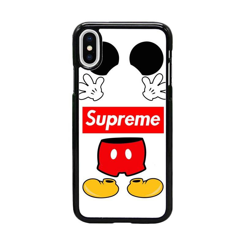 Acc Hp Mickey Mouse Supreme W5096 Custom Casing for iPhone X