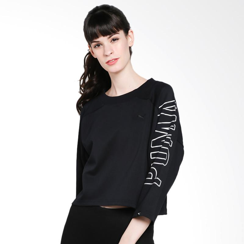 PUMA Women Fusion Cropped 7 8 Sweatshirt