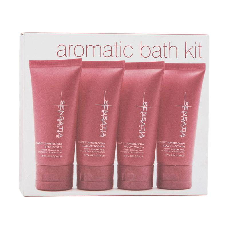 Sensatia Botanicals Leisure Sweet Ambrosia Aromatic Bath Kit