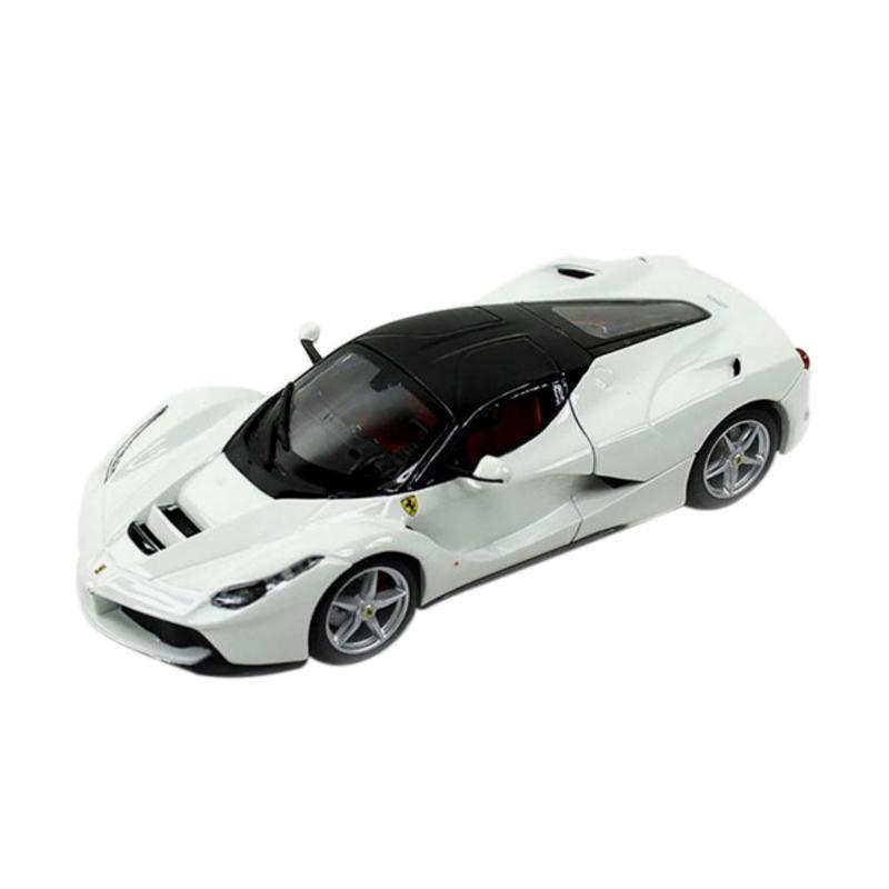 harga BBurago Ferrari Laferrari Diecast - White [1:24] Blibli.com