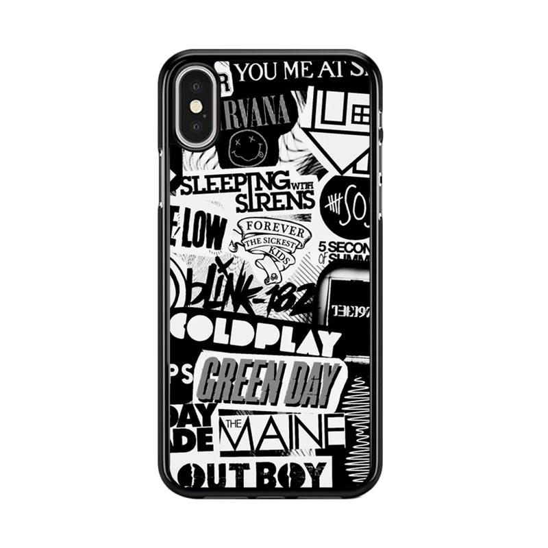 harga Flazzstore The Xx Coldplay Arctic Monkeys The Neighbourhood Sleeping With Sirens The 1975 Band Z0252 Premium Casing for iPhone X Blibli.com