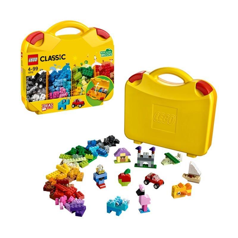 LEGO Classic 10713 Creative Suitcase Blocks Stacking Toys