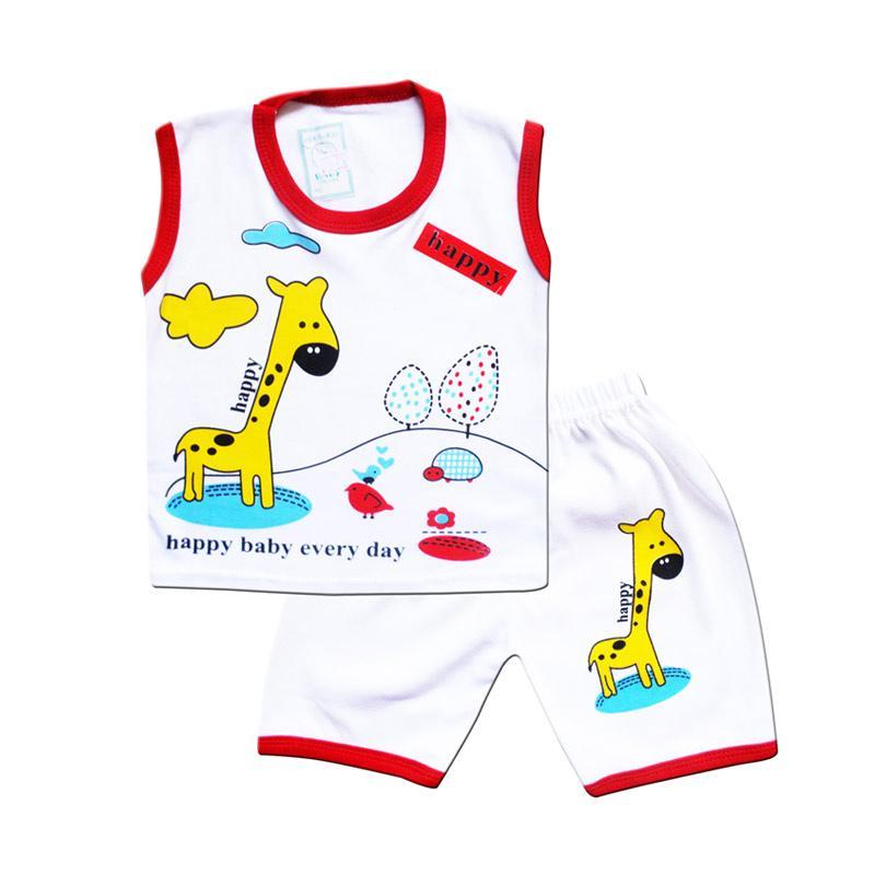 Skabe 2758 Singlet Setelan Pakaian Anak Laki Laki