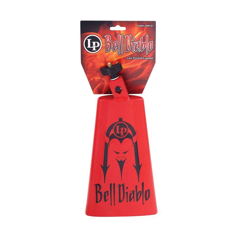 LP LP007-BD Diablo Cowbell Alat Musik Perkusi - Merah