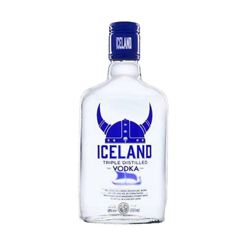 The Peak Connoisseurs Iceland Vodka Minuman [250 mL]
