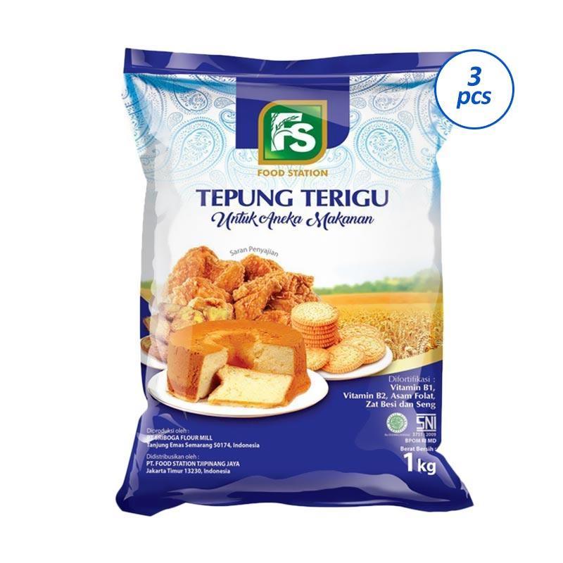 FS Tepung Terigu [1 kg/3 pcs]