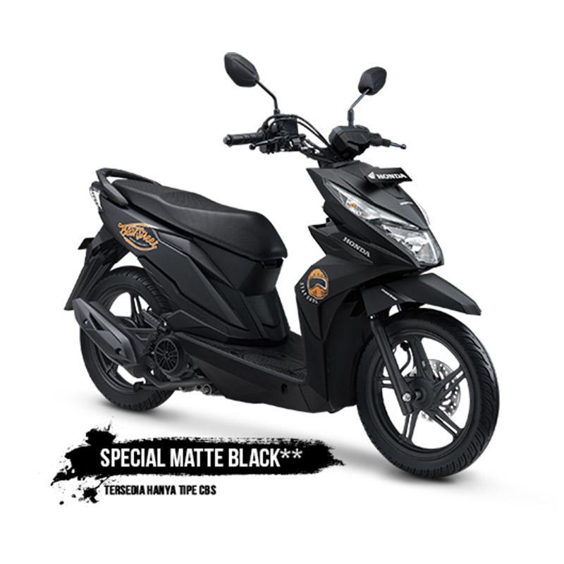 Honda All New BeAT eSP FI Street CBS Sepeda Motor [VIN 2019/ OTR Jadetabek]