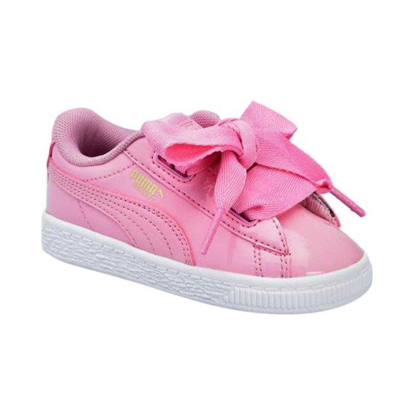 finest selection 7cd8c 4937a Jual PUMA Kids Basket Heart Patent Inf Sepatu Anak - Prism Pink-Prism  Terbaru - Harga Promo September 2019 | Blibli.com