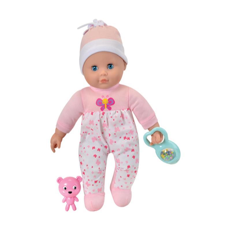 Takmay Toys TM 1436 Doll Love To Kiss Baby Boneka Bayi