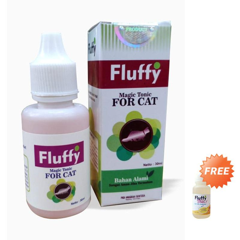 Fluffy Obat Jamur dan Kutu Kucing
