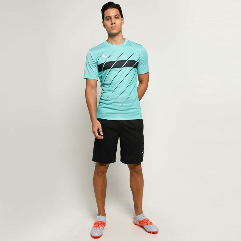 PUMA Men Football ftblPLAY Graphic T Shirt Tosca