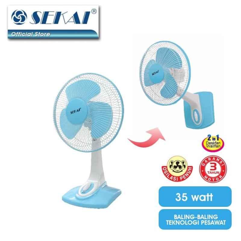 Jual Sekai Dfn 1216 D Blue Kipas Angin Pengiriman Surabaya Online Desember 2020 Blibli