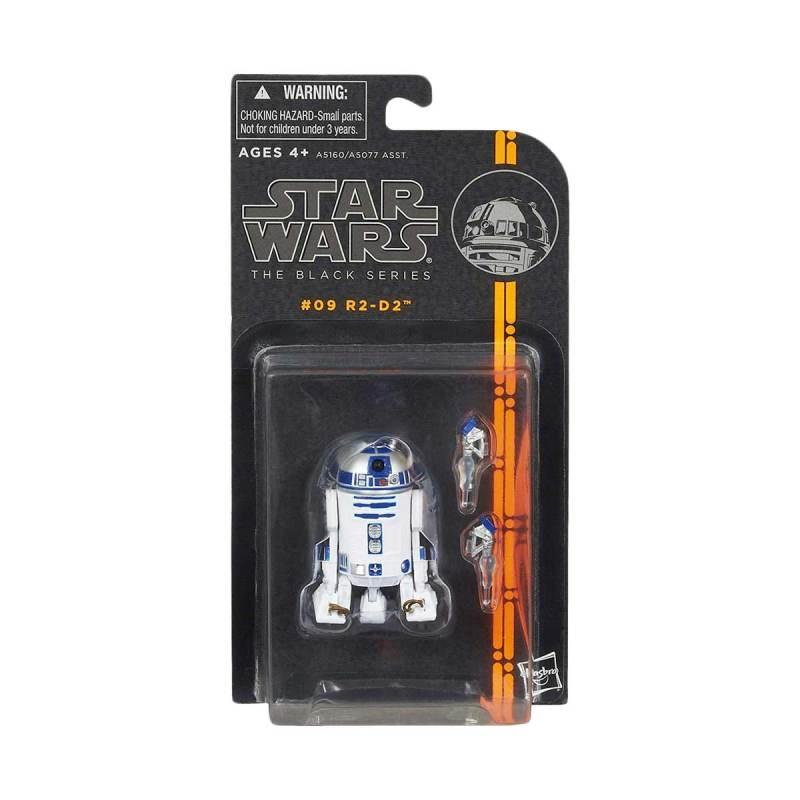 Star Wars R2-D2 Gashapon Noir Mini Figure