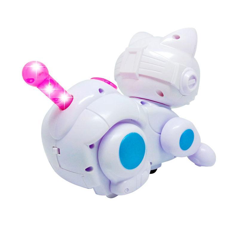 Jual Mainan Anak Robot Robotan Kucing Mainan Robot Cat Bump And Go 333 116 Online Desember 2020 Blibli