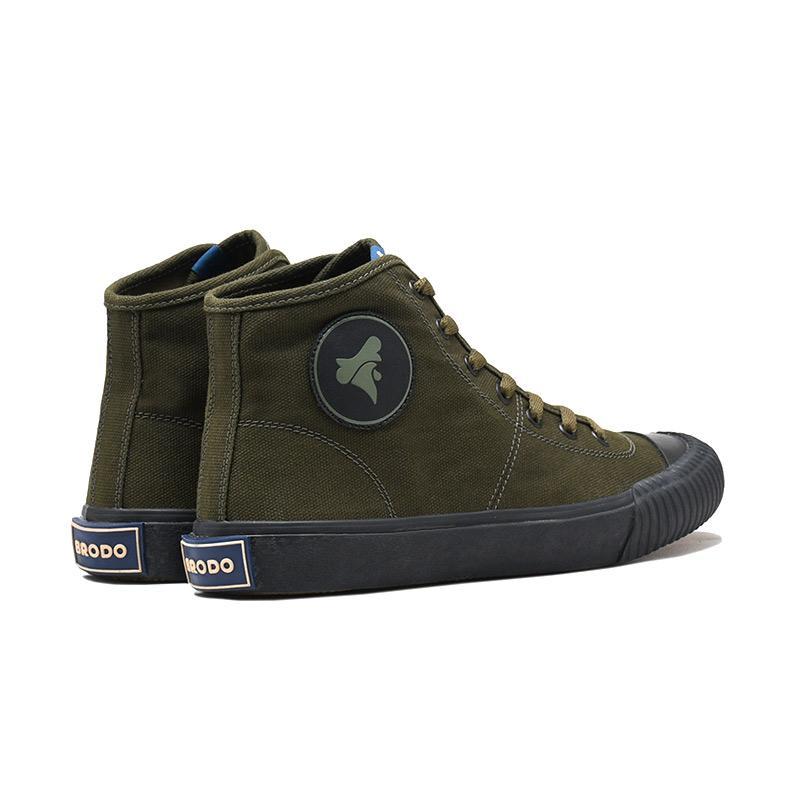 Brodo Vulcan Hi Sepatu Sneakers Pria