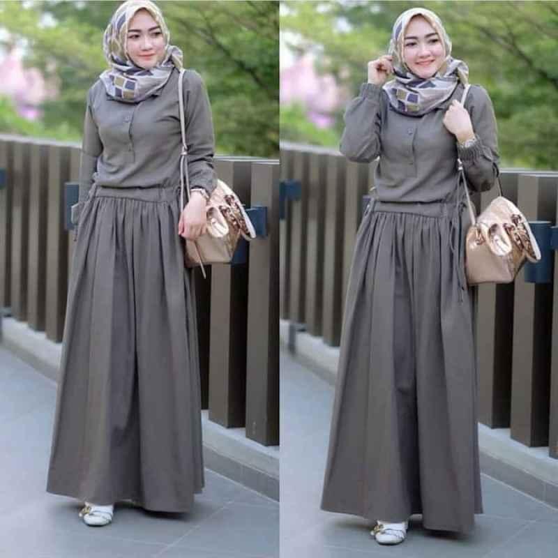 Jual Baju Gamis Balotelli Wanita Muslim Terbaru Sadira Dress Murah Online Maret 2021 Blibli