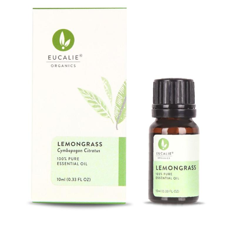 Eucalie Lemongrass Anti Nyamuk 100 Pure Essential Oil Eucalie