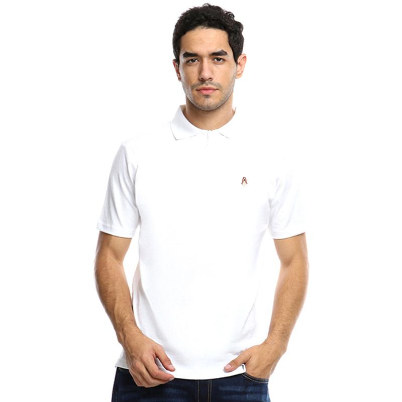Hush Puppies Coleman Polo Shirts Pria White MK17614WH