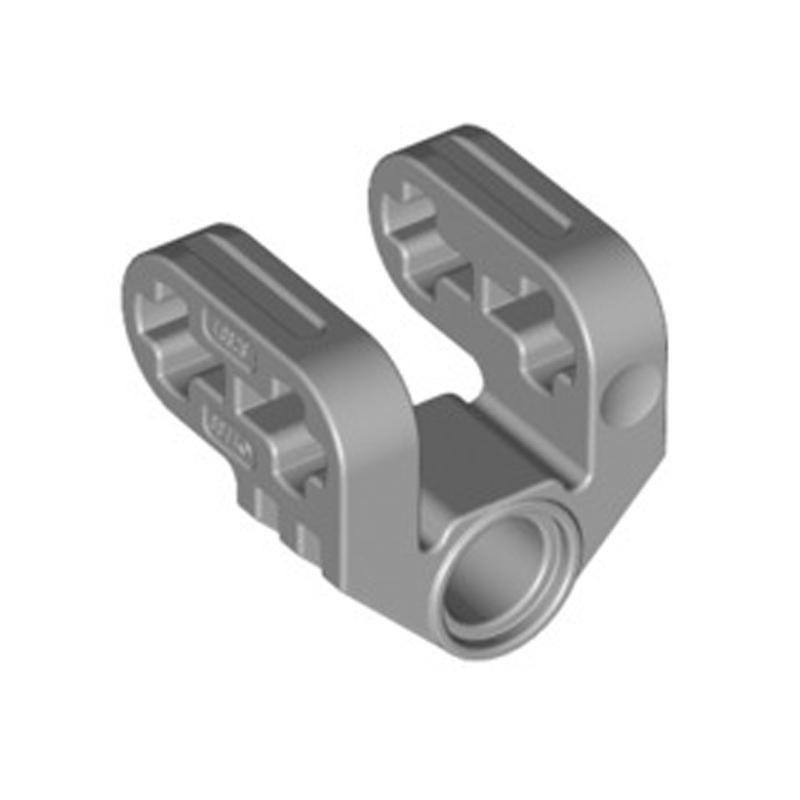 6 NEW Lego Parts 1x2 Dark Gray Rounded Top Bow Bricks
