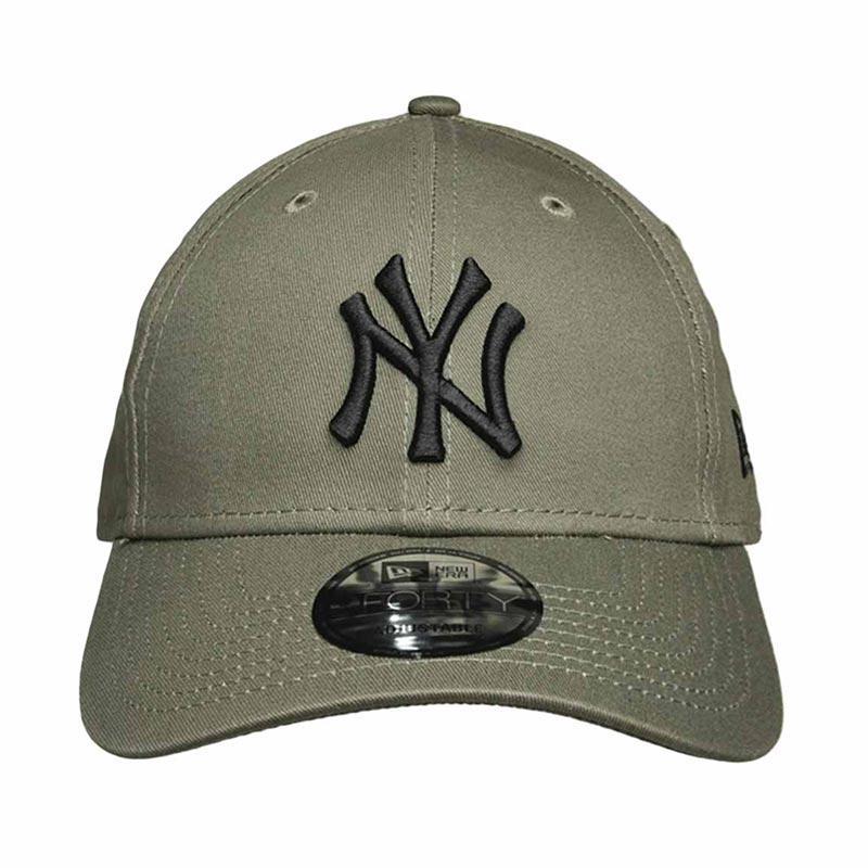 New Era MLB 940 League Essential New York Yankees Topi Baseball Unisex Green