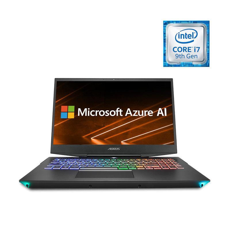 Gigabyte AORUS 15 SA v9 Gaming Laptop i7 9750H GTX 1660 TI GDDR6 6GB DDR4 8GB 2666MHz 512GB m 2 SSD Win10 15 6 Inch Free Bag