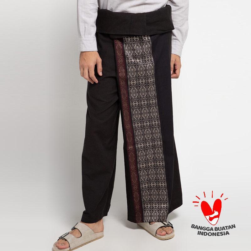 INTRESSE Bark Celana Sarung Pria Black