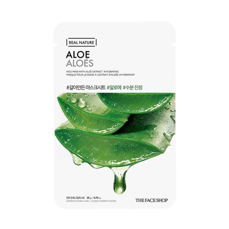 The Face Shop Real Nature Aloe Vera Face Mask