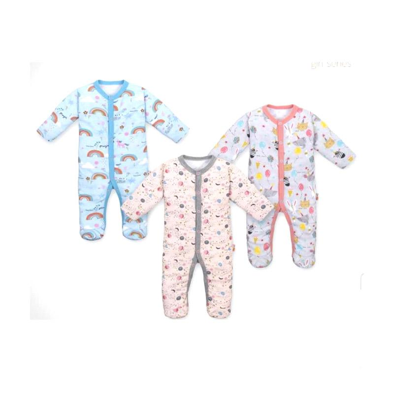 Velvet Junior Sleepsuit Dreamwear Tutup Kaki Stars of The World