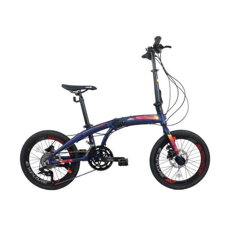 EXOTIC Explore 9 Sepeda Lipat 20 Inch