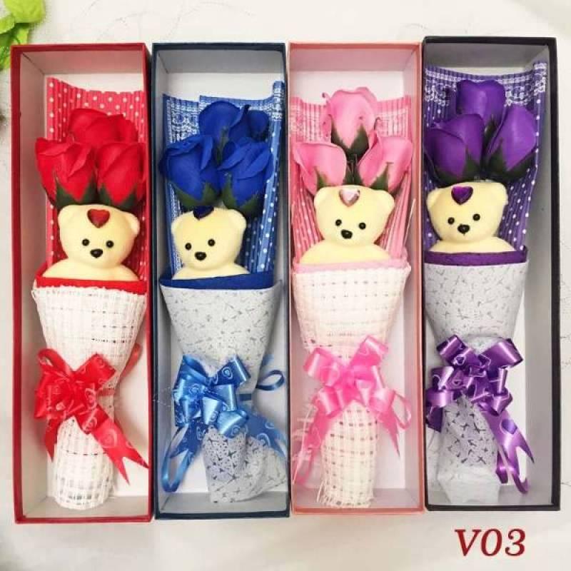 Bunga Kotak Valentine Kado Anniversary Kado Hari Ibu V03 Terbaru Agustus 2021 Harga Murah Kualitas Terjamin Blibli