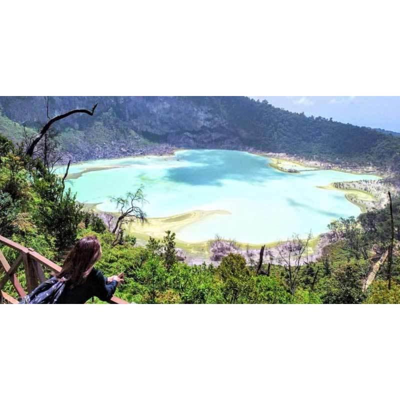 Wisata Kawah Putih White Crater Bandung E Ticket Khusus WNI