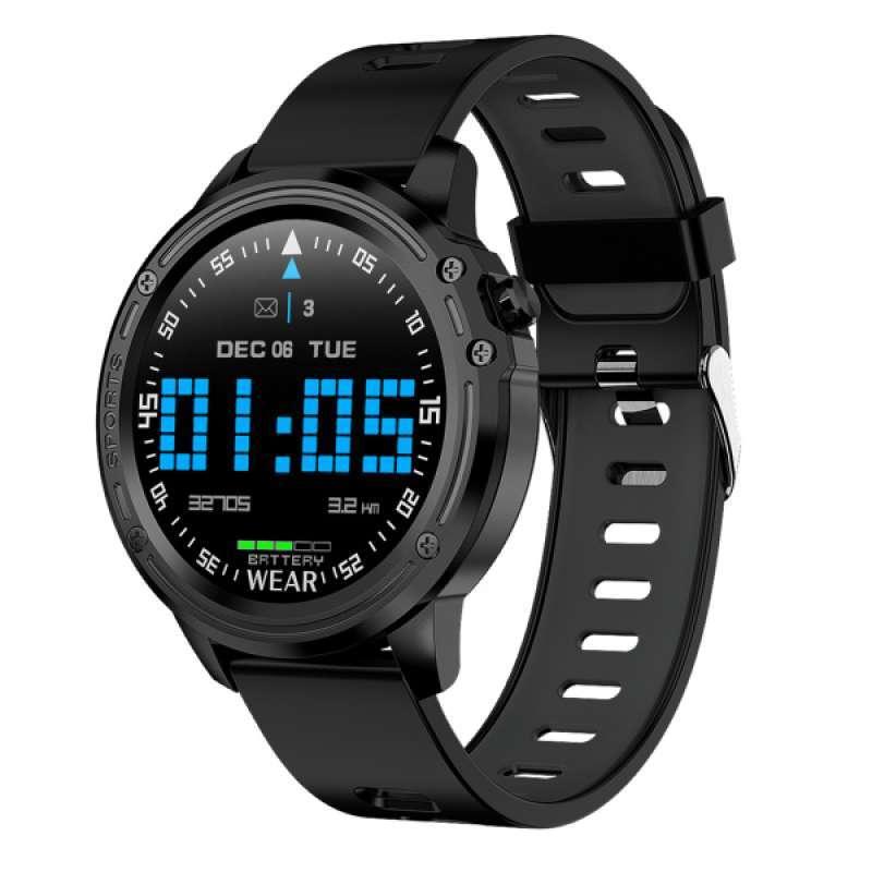 Jual L8 Bluetooth Smart Watch Sports Bracelet Fitness Tracker Waterproof Step Calorie Online November 2020 Blibli