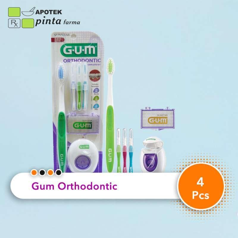 GUM Orthodontic Kit Lengkap utk Behel Kawat Gigi
